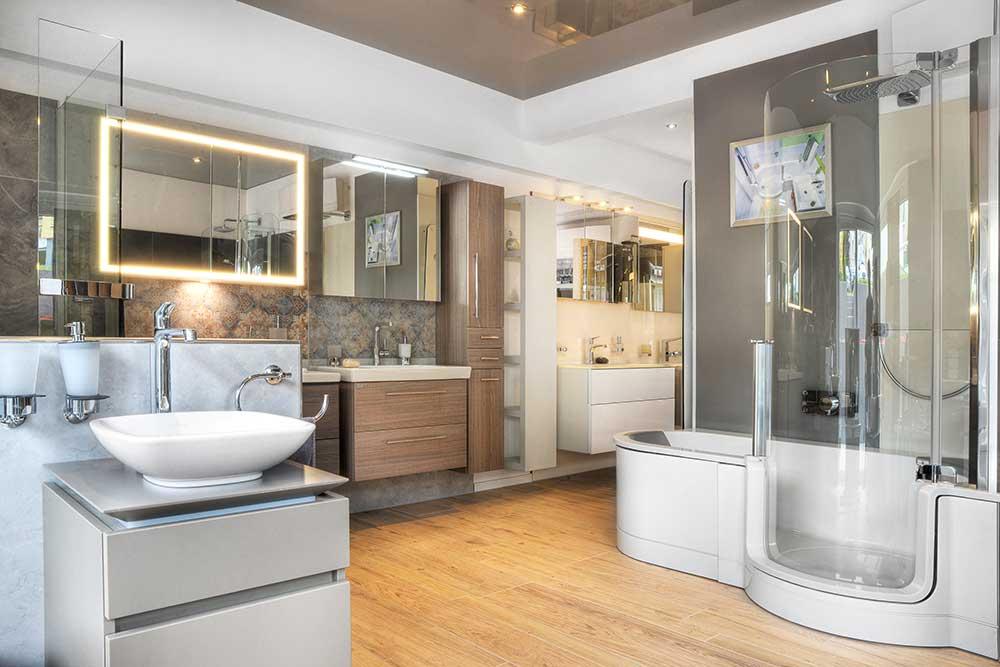 badausstellung im raum frankfurt badstudio. Black Bedroom Furniture Sets. Home Design Ideas